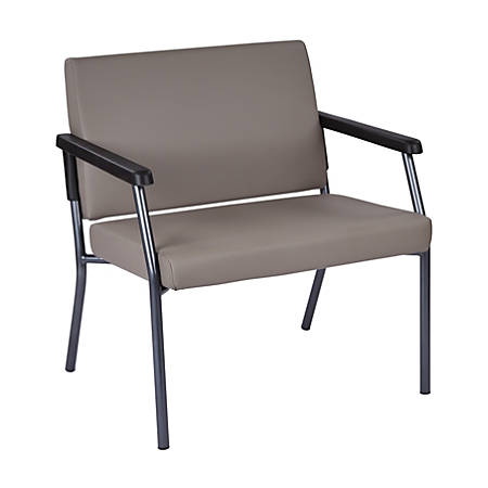 Pleasing Office Star Worksmart 29 Bariatric Big Tall Guest Chair Stratus Gunmetal Gray Item 823444 Dailytribune Chair Design For Home Dailytribuneorg