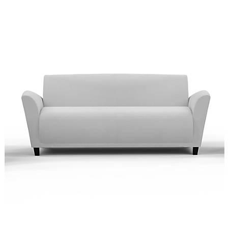 Mayline® Santa Cruz Lounge Seating, Sofa, White/White