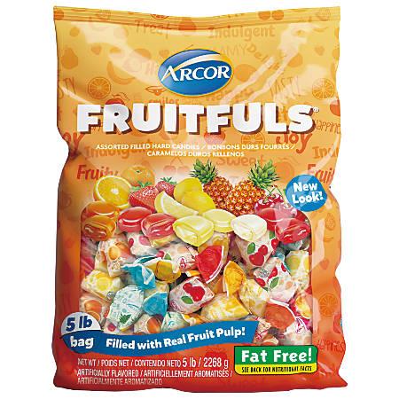 Arcor Assorted Candies, Fruit Filled, 5-Lb Bag