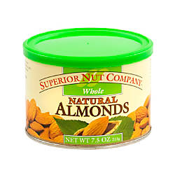Superior Nut Nuts Whole Natural Almonds