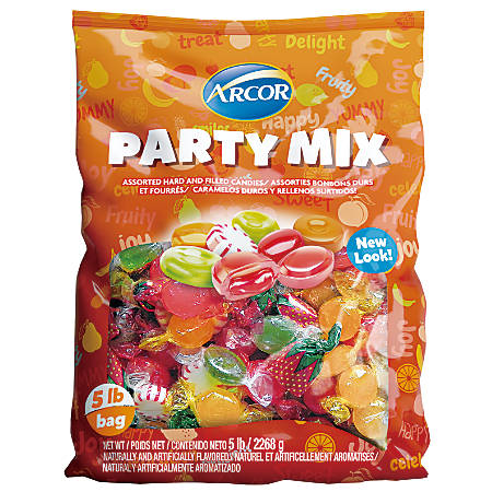 Arcor Assorted Candies, Hard Candy, 5-Lb Bag