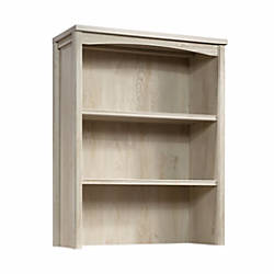 Sauder Costa Library Hutch Chalked Chestnut