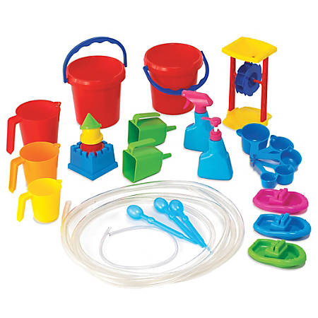 Learning Advantage Water Play Tool Set, Assorted Colors