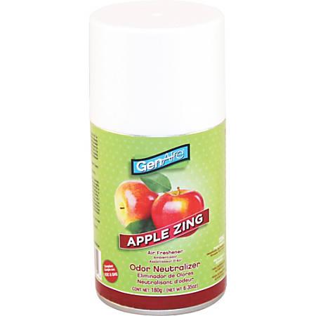 Impact Products Metered Dispenser Air Freshener Spray - Aerosol - 6000 ft³ - 6.4 fl oz (0.2 quart) - Apple Zing - 12 / Carton - Odor Neutralizer