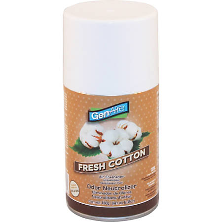 Impact Products Metered Dispenser Air Freshener Spray - Aerosol - 6000 ft³ - 6.4 fl oz (0.2 quart) - Linen Fresh - 12 / Carton - Odor Neutralizer