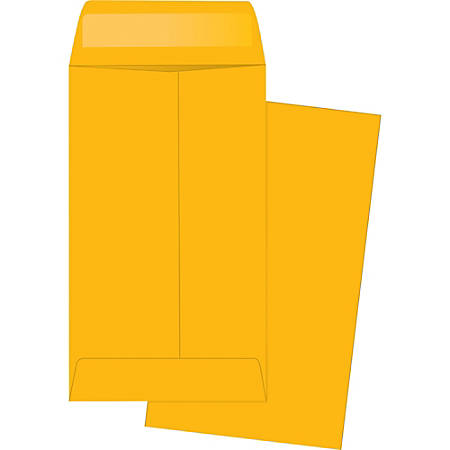 "Business Source Little Coin No. 5-1/2 Kraft Envelopes - Coin - #5-1/2 - 3 1/8"" Width x 5 1/2"" Length - 28 lb - Gummed - Kraft - 500 / Box - Brown Kraft"