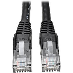 Tripp Lite 1ft Cat6 Gigabit Snagless