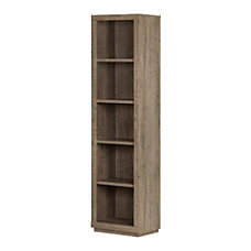 South Shore Kanji 5 Shelf Narrow