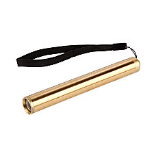 Kikkerland Design Inc Brass Flashlight 12