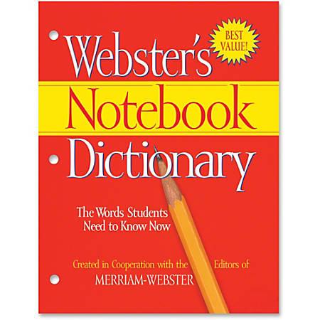 Merriam-Webster Notebook Dictionary