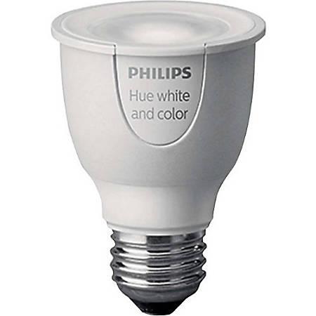 Philips Hue Ambiance PAR16 Smart LED Light Bulb, White/Color