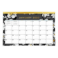 Blue Sky Monthly Desk Pad 17