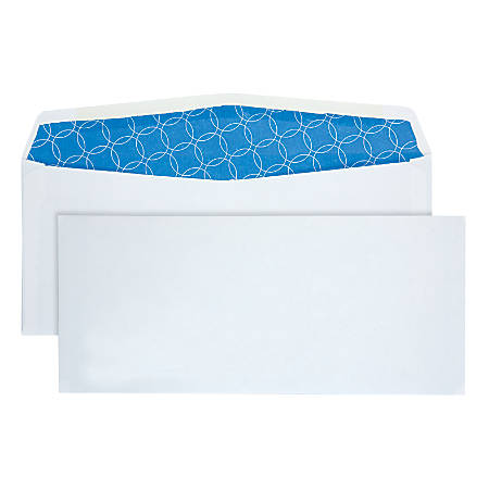 """Quality Park® Security Business Envelopes, Antimicrobial, #10, 4 1/8"""" x 9 1/2"""", White, Box Of 500"""