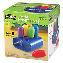 Learning Resources Jumbo Eyedroppers Set ThemeSubject