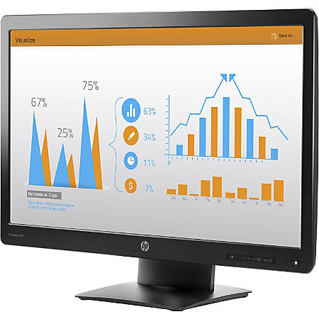 """HP Business P232 23"""" Widescreen HD LED LCD Monitor, Black"""