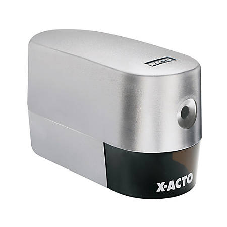 X-ACTO® Model 2000 Electric Pencil Sharpener, Silver