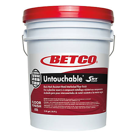 Betco® Untouchable® With SRT™ Floor Finish, 5 Gallons