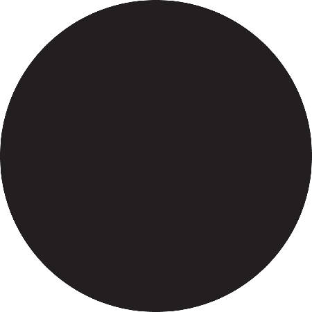 """Removable Round Color Inventory Labels, DL612F, 1 1/2"""" Diameter, Black, Pack Of 500"""