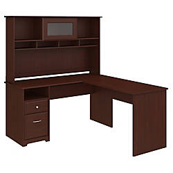 Bush Furniture Cabot L Shaped Computer