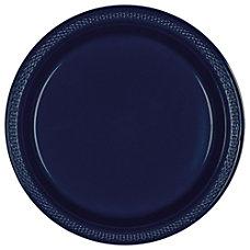 Amscan Round Plastic Plates 10 14
