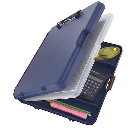 "Saunders® Workmate II Portable Desktop, 8 1/2"" x 12"", Blue"