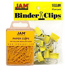 JAM Paper Clips Combo Kit RegularSmall