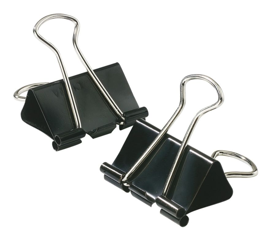 """Office Depot Brand Binder Clips, Small, 3/8"""" Capacity"""