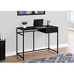 Monarch Specialties Metal Computer Desk Black
