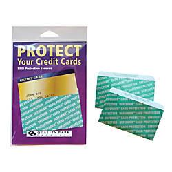 Quality Park RFID Safe Credit Card