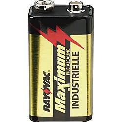 Rayovac Maximum Alkaline 9 Volt Batteries