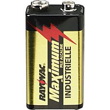 Rayovac Maximum Alkaline 9 Volt Batteries