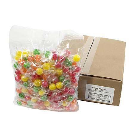Quality Candy Sour Fruit Balls, 5-Lb Box