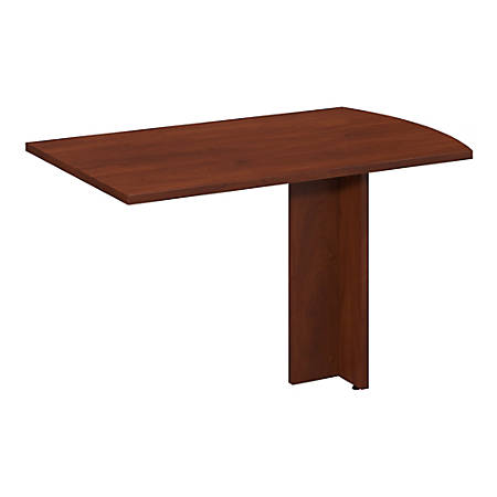 "Bush Business Furniture Components Elite Peninsula Return, 48""W x 30""D, Hansen Cherry, Premium Installation"