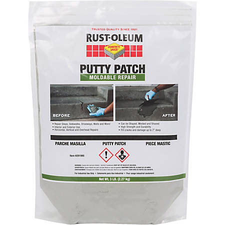 Rust-Oleum Concrete Saver Putty Patch, 48 Oz, Gray
