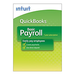QuickBooks® Payroll 2013, Traditional Disc