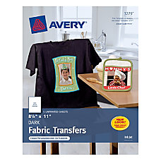 Avery Personal Creations T Shirt Transfers