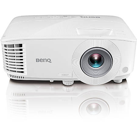 BenQ MH733 3D Ready DLP Projector - 16:9 - 1920 x 1080 - Ceiling, Front - 1080p - 4000 Hour Normal Mode - 8000 Hour Economy Mode - Full HD - 16,000:1 - 4000 lm - HDMI - USB