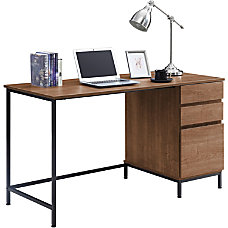 Lorell SOHO 3 Drawer Desk 55