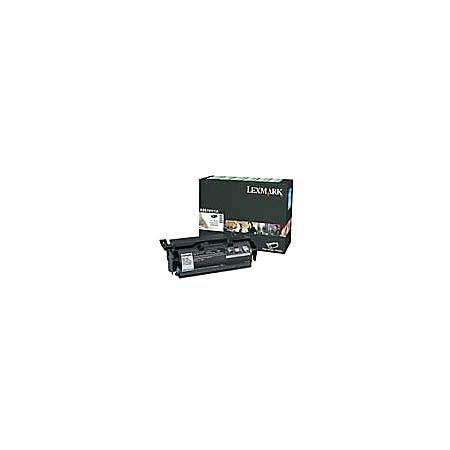 Lexmark - High Yield - black - original - toner cartridge LRP - for Lexmark X651, X652, X654, X656, X658