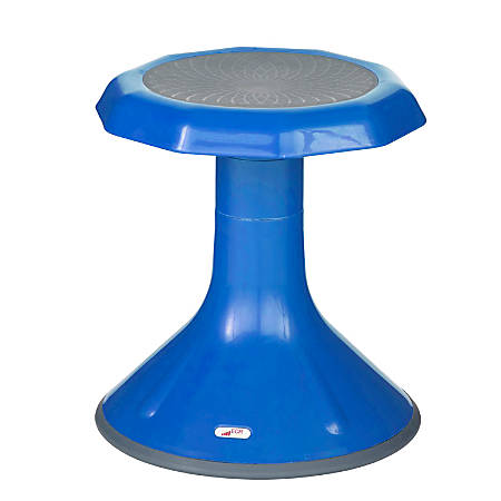"ECR4Kids ACE Stool, 15 1/4""H, Blue"