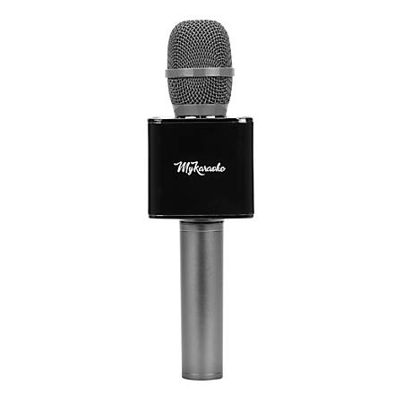 MyKaraoke Pro Microphone And Speaker, Black, MK-MC200B