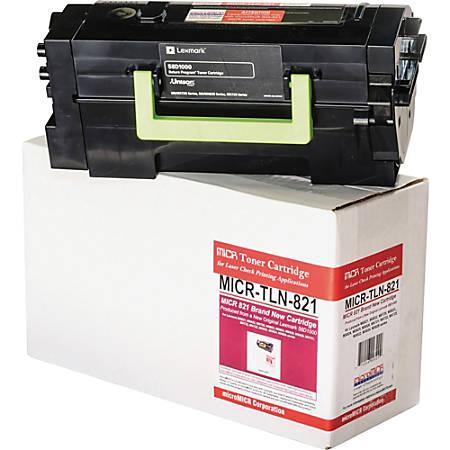 microMICR MICR Toner Cartridge - Alternative for Lexmark - Black - Laser - 700 Pages