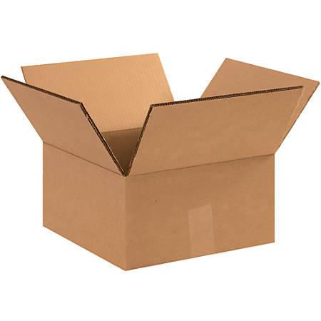"Office Depot® Brand Double-Wall Heavy-Duty Corrugated Cartons, 14"" x 14"" x 8"", Kraft, Box Of 15"