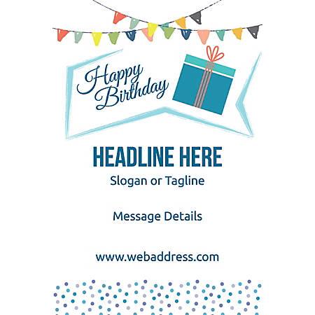 Custom Poster, Birthday Gift, Vertical