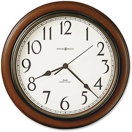 Howard Miller Talon Wall Clock - Analog - Quartz