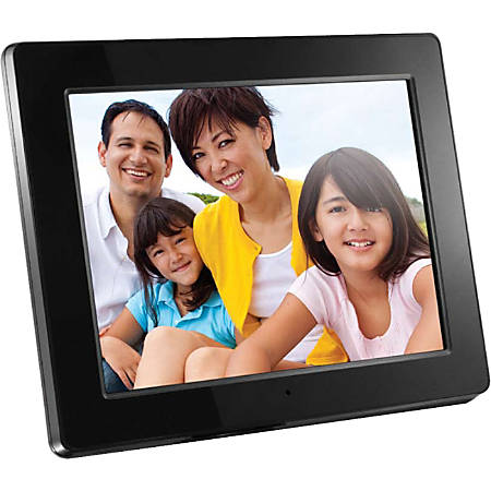 Aluratek 12 Digital Picture Frame 93 X 115 X 15 Black Admpf512f