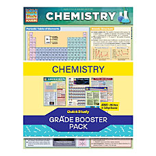 QuickStudy Grade Booster Pack Chemistry