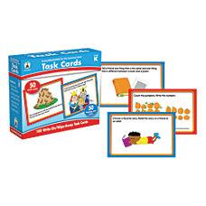 Carson Dellosa CenterSOLUTIONS Task Cards Kindergarten