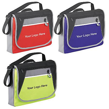 """Studio Messenger Bag, 12""""H x 15""""W x 3""""D, Assorted Colors"""