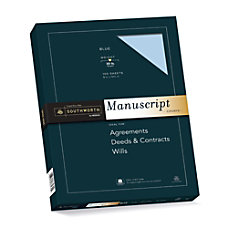 Southworth 75percent Recycled 25percent Cotton Manuscript